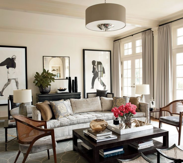 Adorable Architectural Digest Living Room Of French Door Renovation Inspiration Photos |