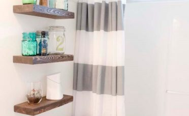 Adorable Bathroom Wall Shelf Ideas Of Chic Shelving For Cleaner