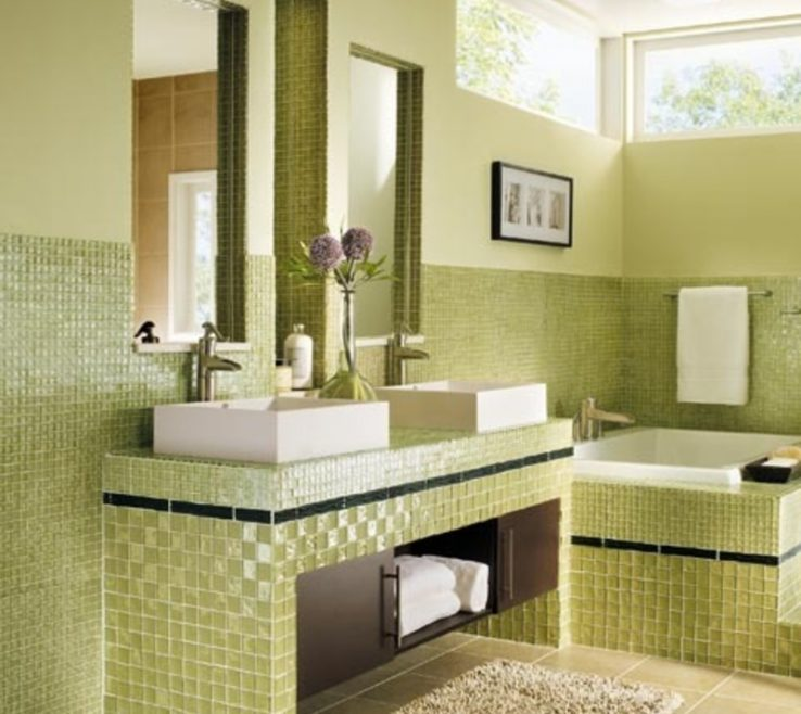 Adorable Colorful Bathrooms Of 1067