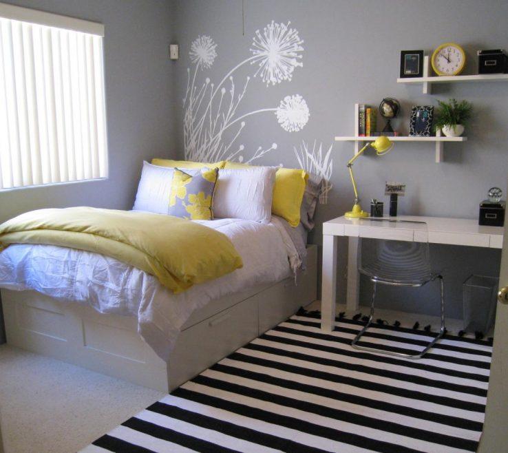 Adorable Gray Color Bedroom Of Rms Dodi Yellow Teen Bedroom 4x3