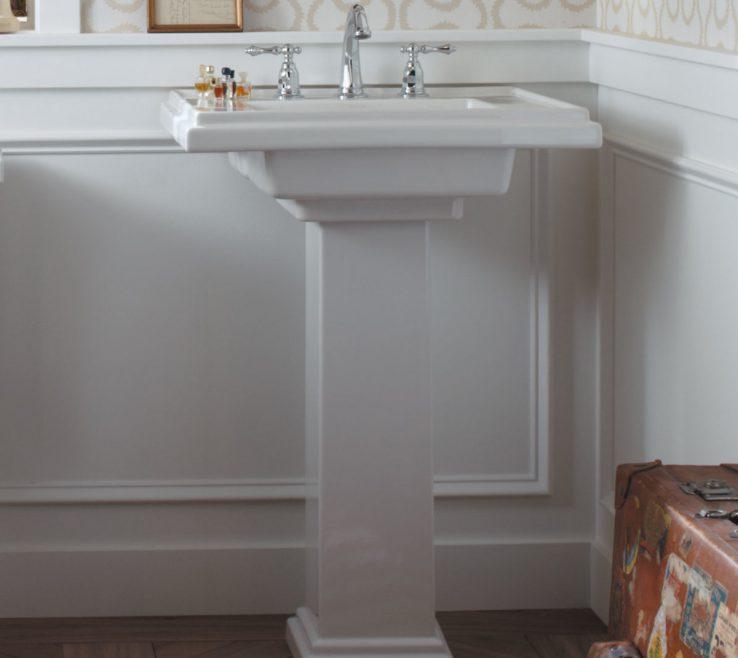 "Adorable His And Hers Bathroom Sinks Of K 2845 8 0,1 0 Kohler Tresham® Ceramic 30"" Pedestal Sink"
