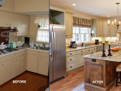 Kitchen Renovation Before And After