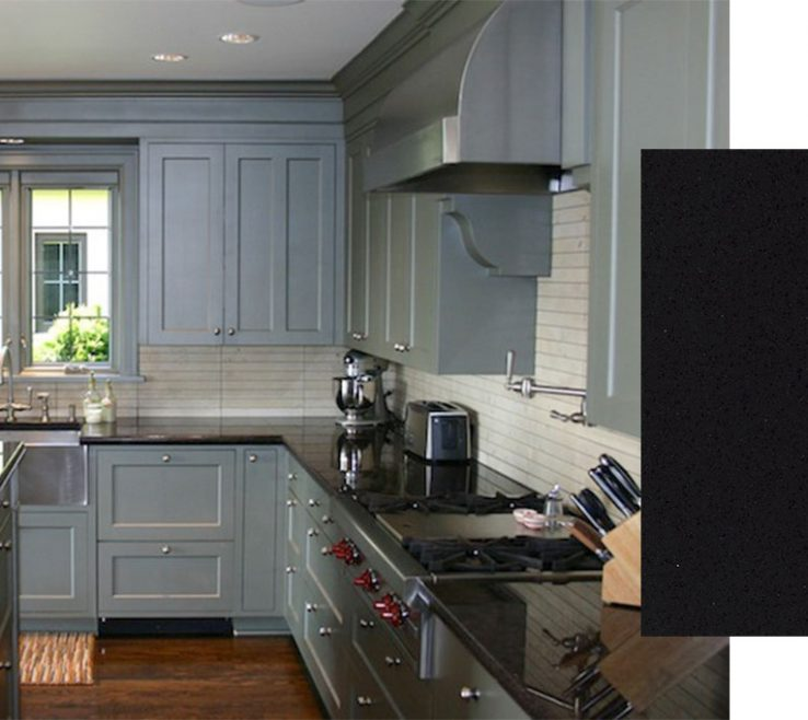 Adorable Kitchens With Black S Of Cambrian – Quartz By Cambria