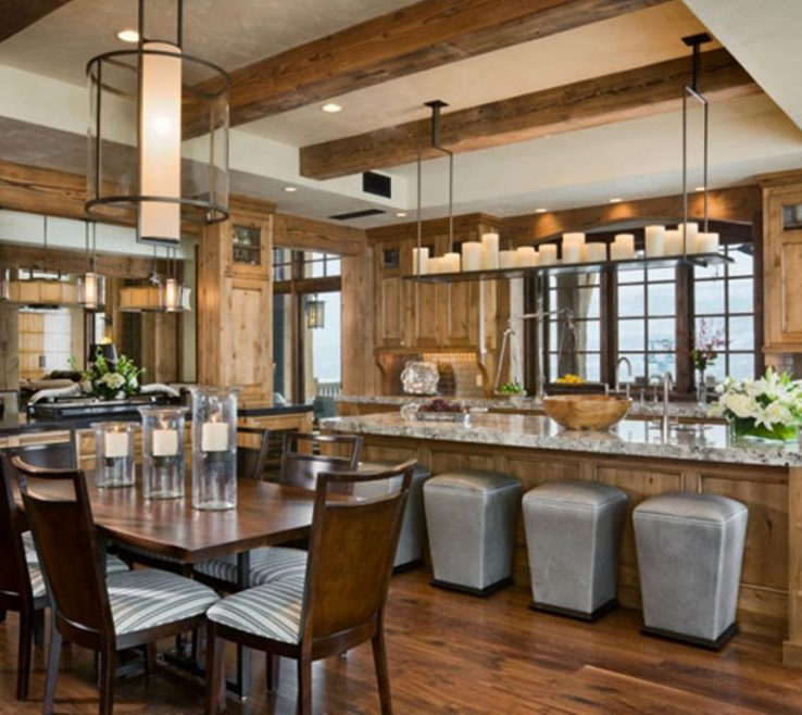 Adorable Modern Rustic Kitchen Designs