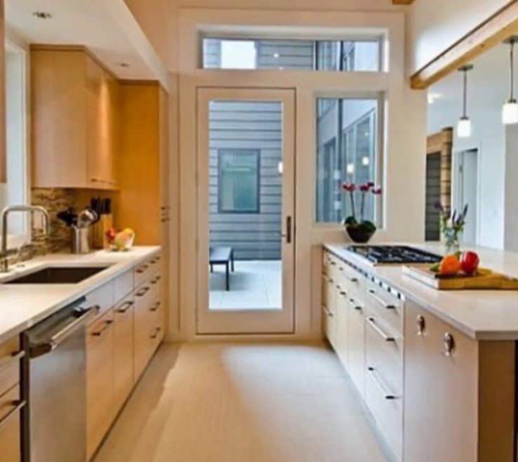 Adorable Small Galley Kitchen Of Gallery Designs Collections