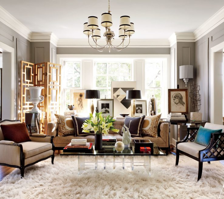 Alluring Architectural Digest Living Room Of A Historic Beaux Arts Landmark In Kansas