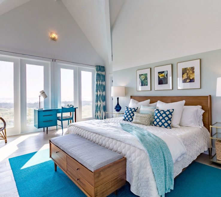 Alluring Beach E Bedroom Of Teal Turquoise And Aloe Bedroom Modern Design