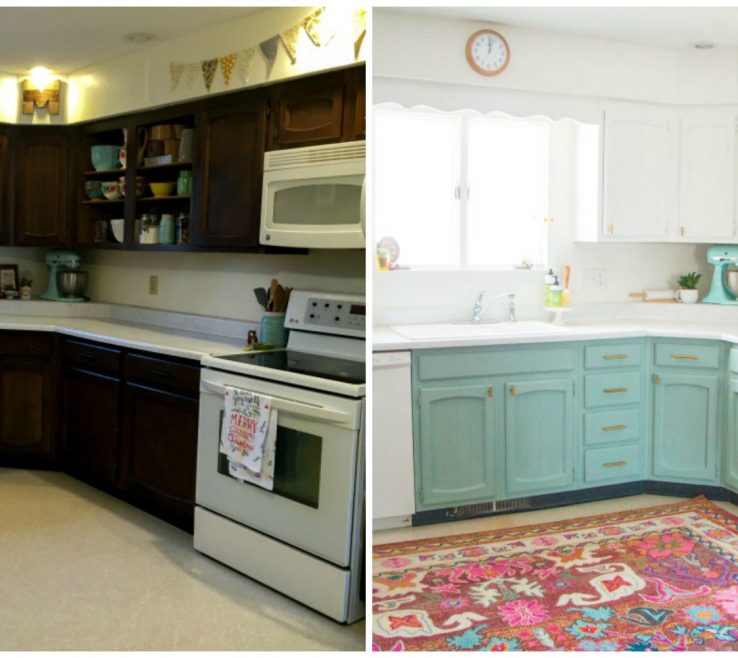 Alluring Before And After Kitchen Remodel Of Image