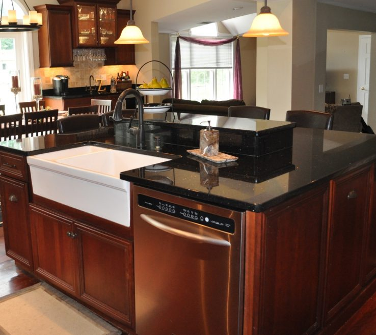 Alluring Black Granite Kitchen S Of Awesome