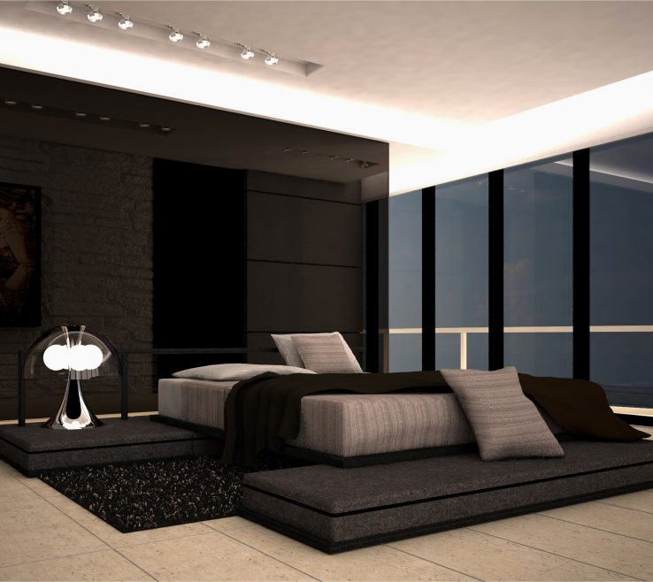 Alluring Contemporary Bedroom Ideas Of Designs With Modern Interior Unique
