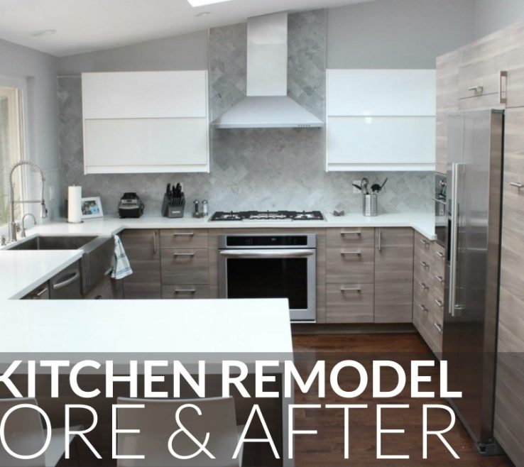 Alluring Kitchen Renovation Before And After Of Ikea Remodel & Orange County