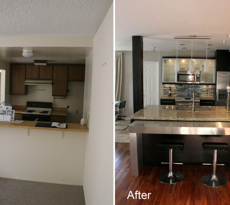 Alluring Kitchen Renovation Before And After Of Remodels Sciclean Home Design Cosmetic Remodel Ideas