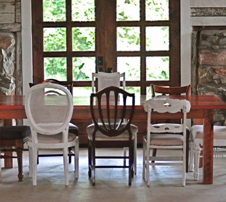 Alluring Mix And Match Dining Chairs