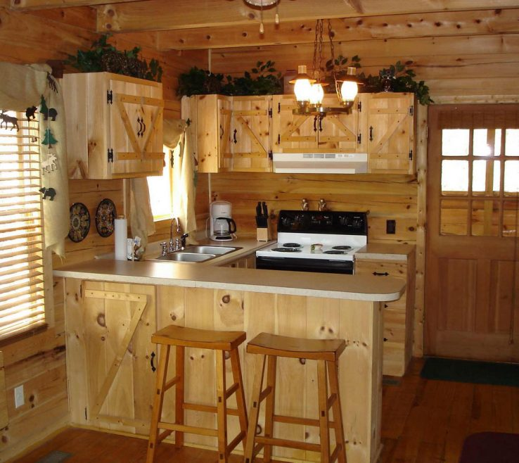 Alluring Small Rustic Kitchen Of Great Ideas Of U Shaped Desig