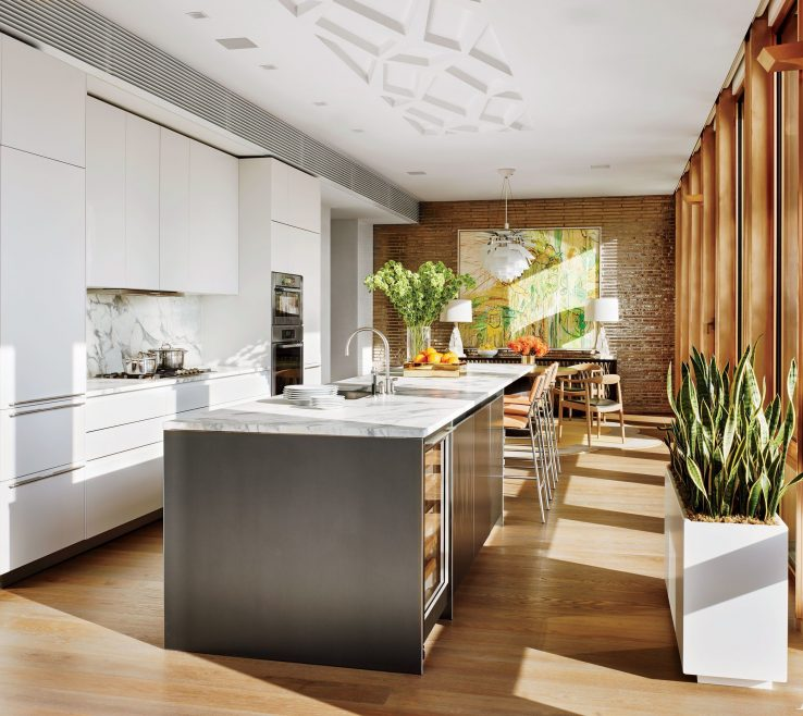 Amazing Architectural Digest Kitchens Of 35 Sleek And Inspiring Contemporary Photos |