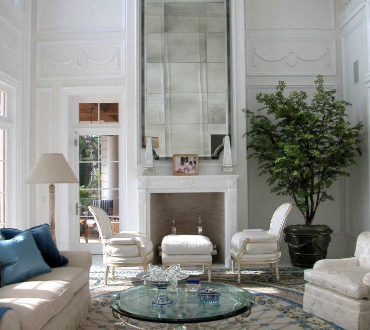 Amazing High Ceiling Living Room Of Room:decorating Ideas For Walls Inspirational Home Then