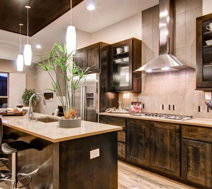 Amazing Rustic Contemporary Kitchen Of Modern S Modern Ideas The S