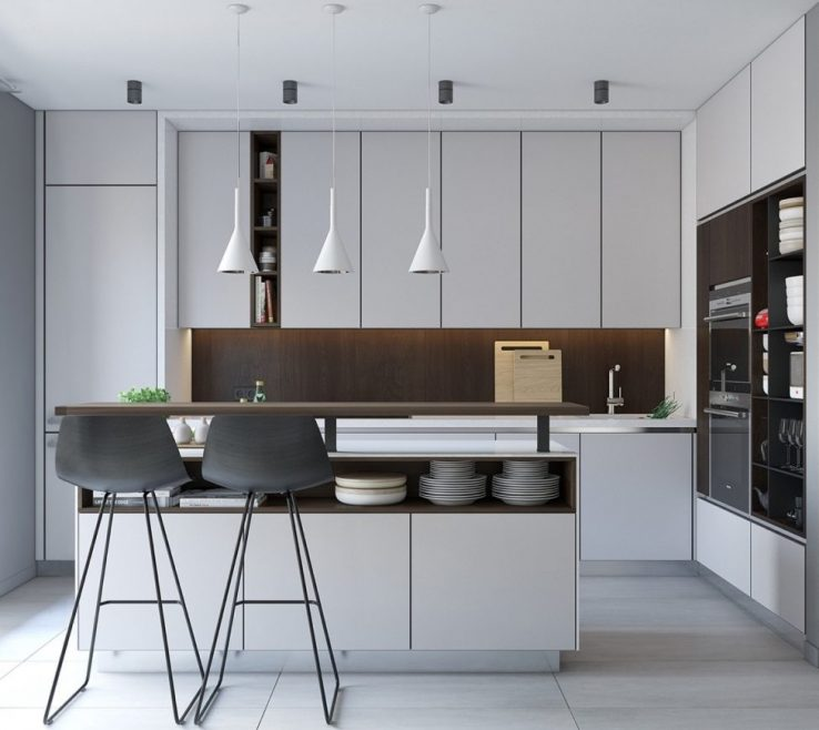Amazing Small Apartment Kitchen Ideas Of Kitchens Designs Custom For Modern