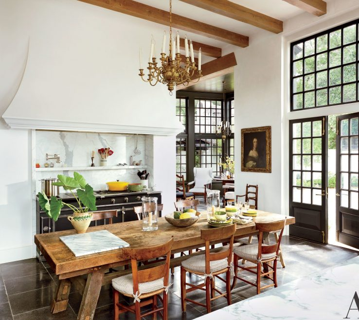 Architectural Digest Kitchens Of 19 Rustic Kitchen Ideas You