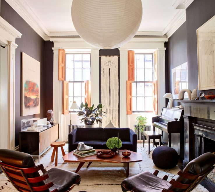 Architectural Digest Living Room Of The New York City E Julianne Moore