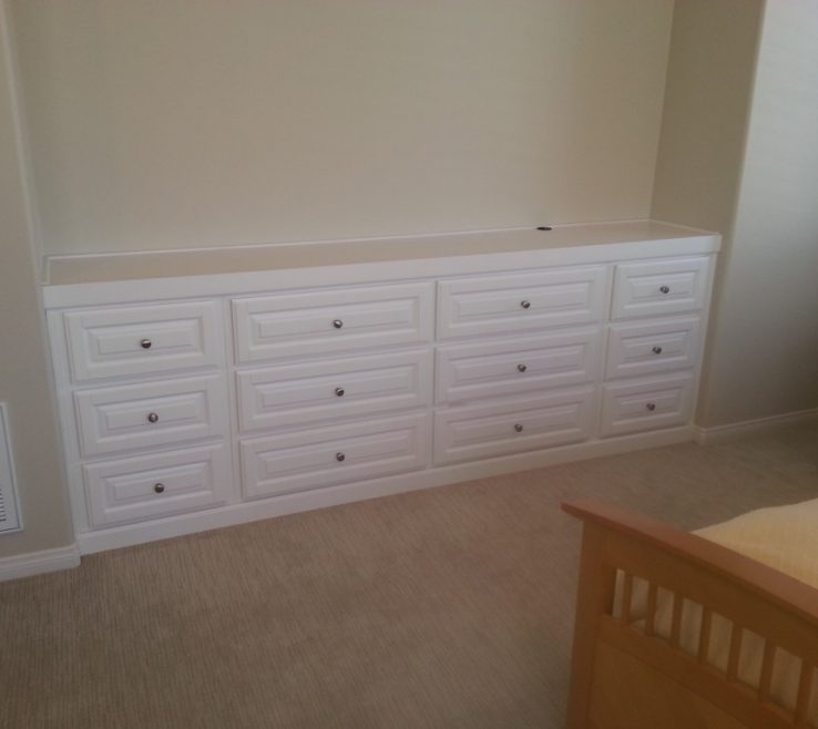 Artistic Bedroom Built Ins Of In Dresser Shapeyourminds