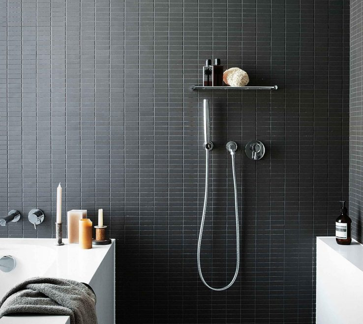 Artistic Best Bathroom Designs Of Pictures Of Black And White Tiled Bathrooms