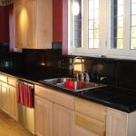 Artistic Black Marble Kitchen S