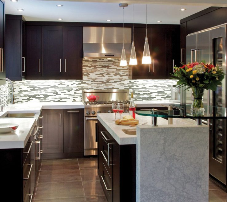 Artistic Contemporary Kitchen Designs Of Small