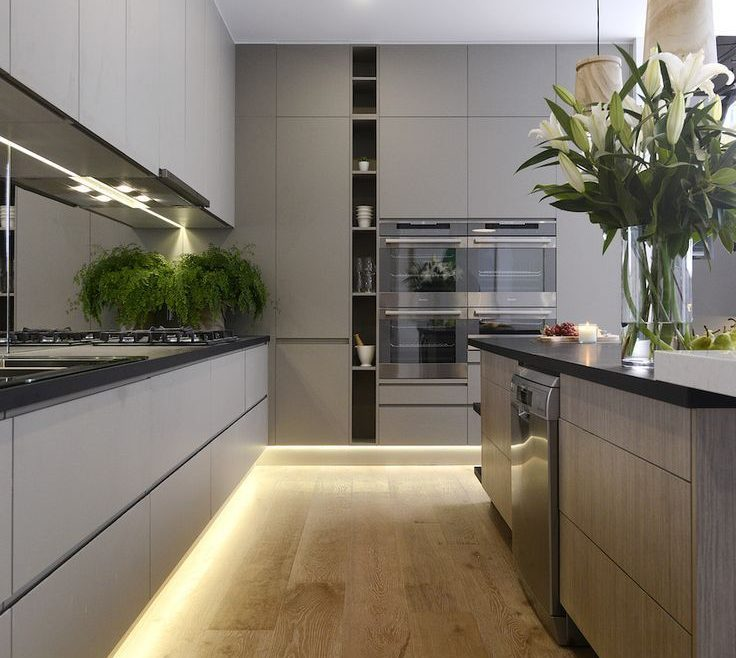 Artistic Pictures Of Modern Kitchens Of Like Design Due To The Ultra Facility
