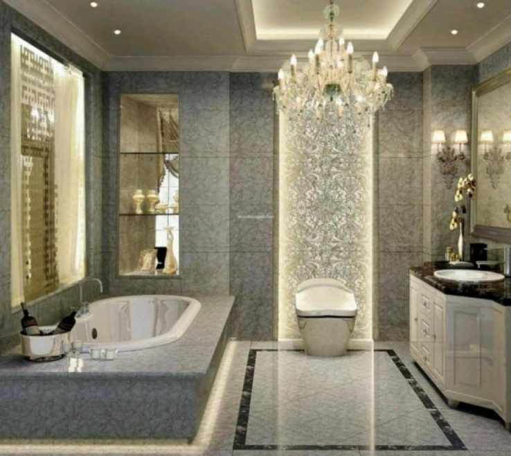 Astonishing Bathroom Chandeliers Ideas Of Chic Crystal Graceful Antique Crystal Calls Old
