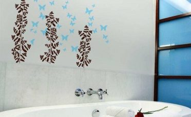Astonishing Bathroom Wall Art Decor Of Cool Red For Inspirations Red