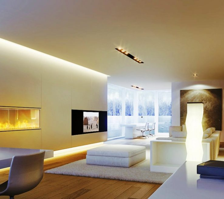 Astonishing Best Lighting For Living Room Of Determining Track