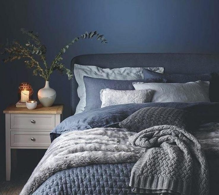 Astonishing Blue Gray Bedroom Of Size Auto Of And Best