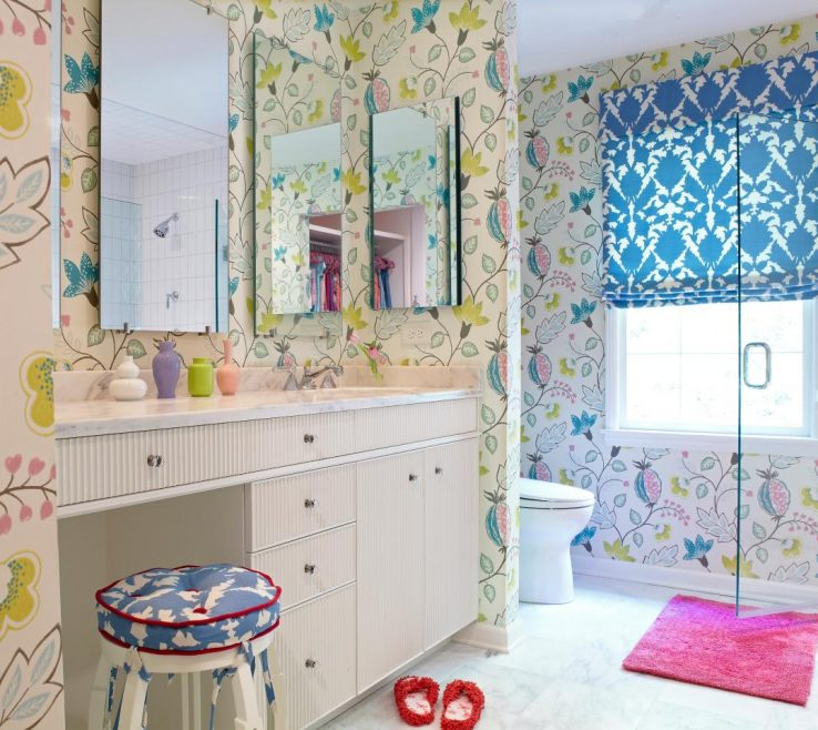 Astonishing Colorful Bathrooms Of Girls