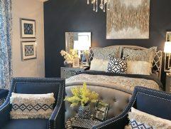 Grey Master Bedroom