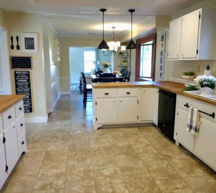 Astonishing Kitchen Renovation Before And After Of E Makeover Reveal. How We Updated Our