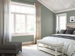 Gray Color Bedroom