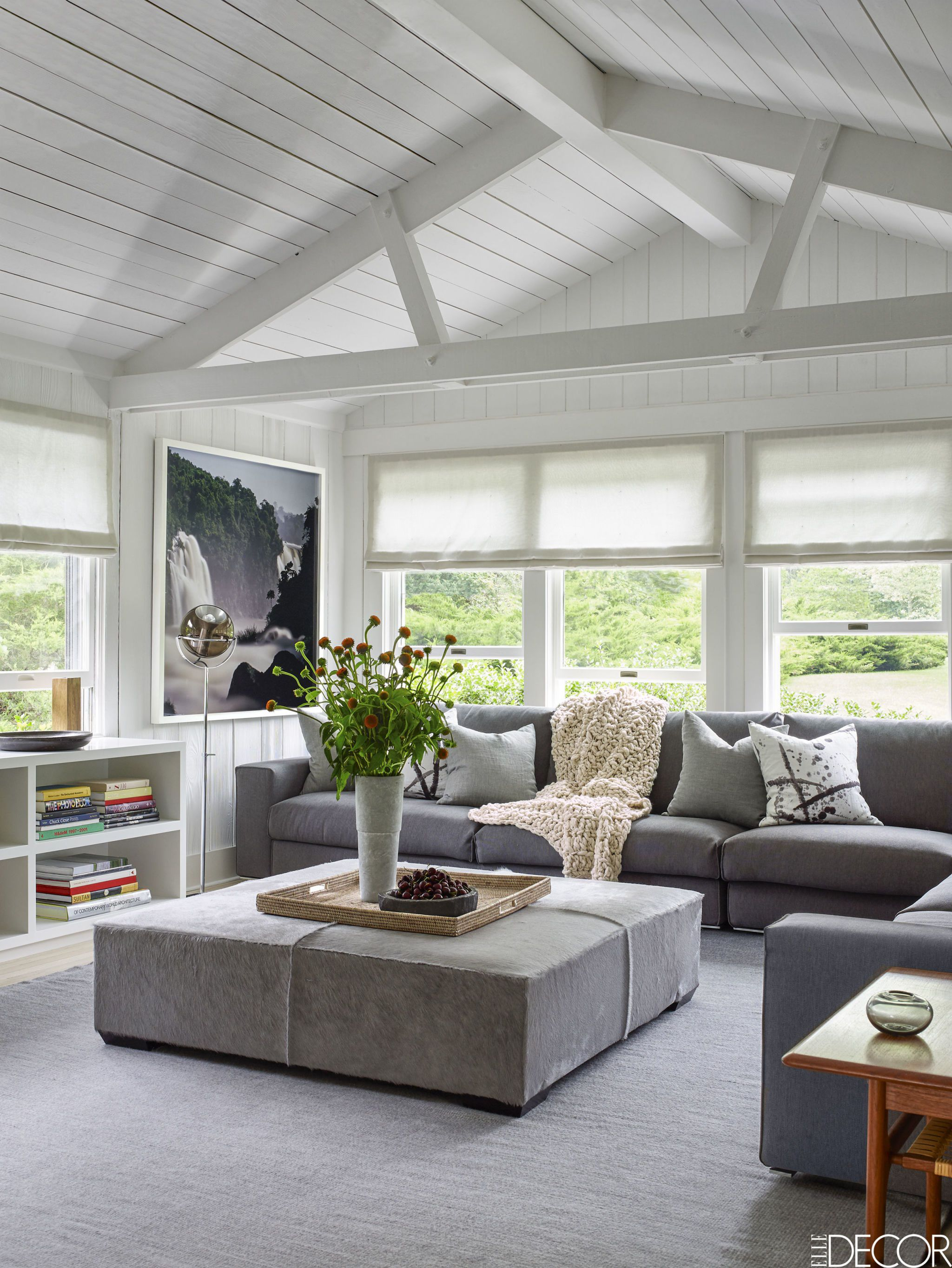 Astounding Gray Living Room - ACNN DECOR