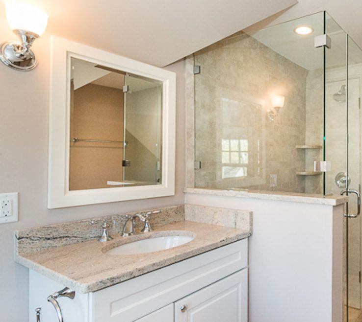 Astounding His And Her Bathroom Vanities Of Woburn Ma Custom Designed Vanity By Carole