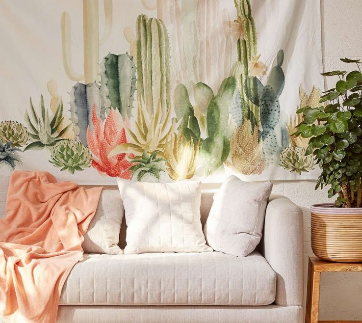 Astounding Living Room Tapestry Of Landscape Urban Outfitters