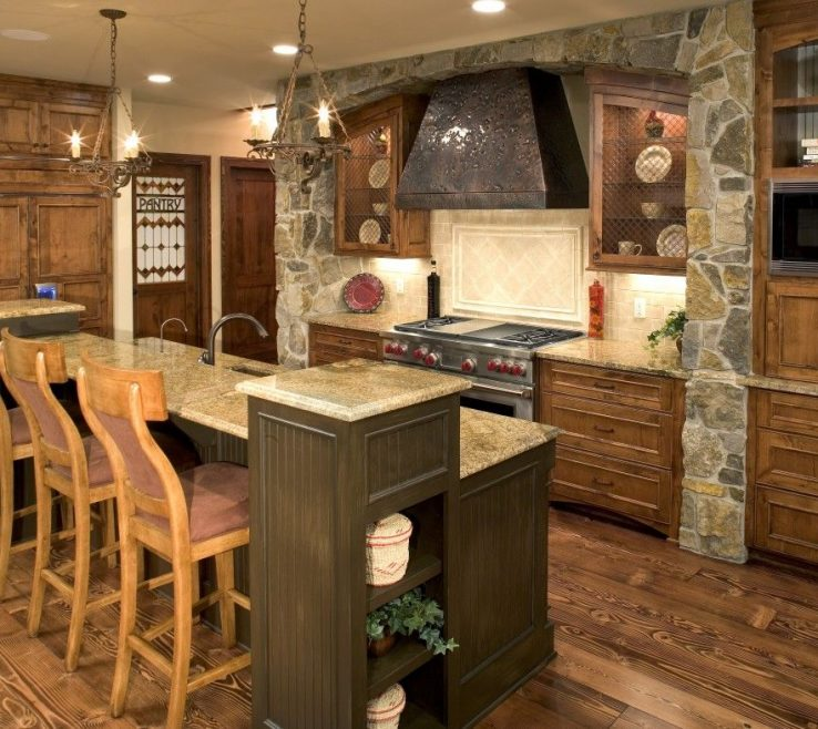 Astounding Modern Rustic Kitchen Designs Of Fresh Design