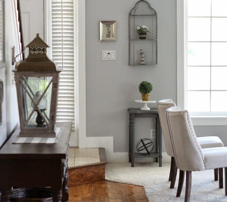 Attractive Grey Colour Schemes For Living Rooms Of Benjamin Moore Pelican | In 2018 |