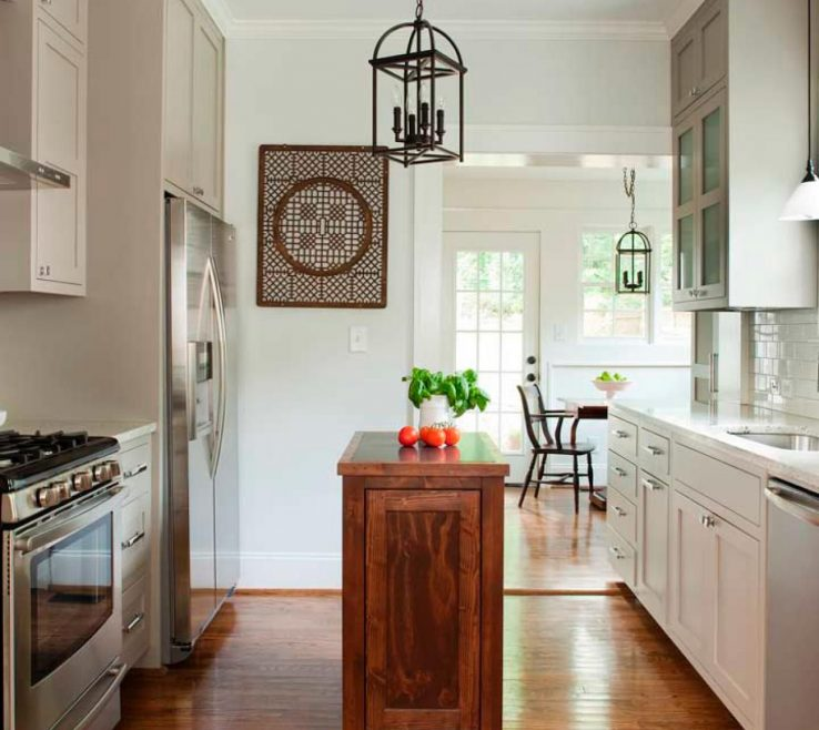 Attractive Small Galley Kitchen Of Dreamy Islands Ideas Andamp Design