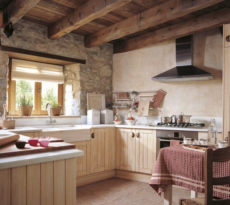Attractive Small Rustic Kitchen Of 10 Cocinas Pequeñas ¡bonitas Y Prácticas! ·