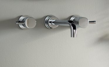 Attractive Wall Mount Bathroom Faucet Of American Standard Serin Mounted With Drain Assembly