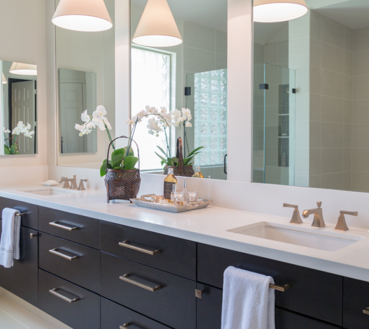 Awesome Bathroom Remodeling Ideas Before And After Of Remodel; Vanity; Ry; Mirror; Decor; Lighting; Sink;&nbsp
