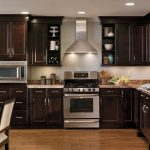 Awesome Kitchen Desings Of Dark Woods Pair Well With Stainless Steel