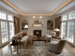 Living Room Ceiling Lighting Ideas