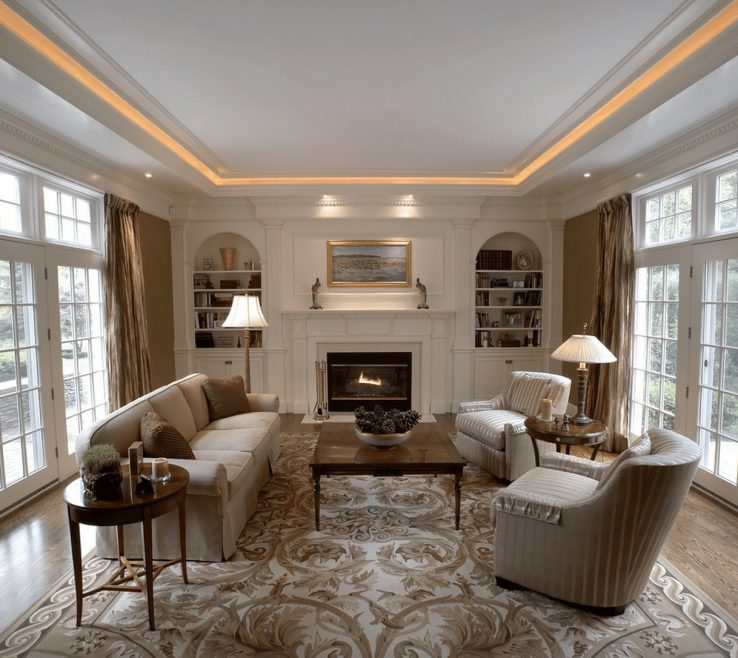 Awesome Living Room Ceiling Lighting Ideas Of Gallery Collections