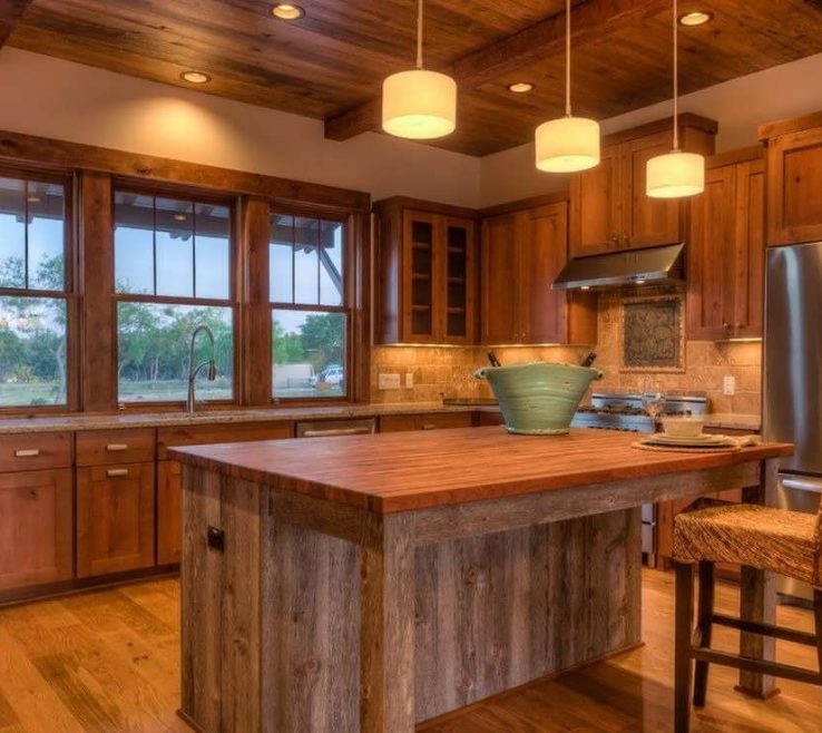 Awesome Rustic Style Kitchen Of 8 Coolest Country Oak